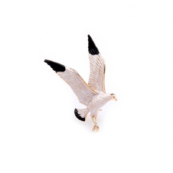 White Eagle Brooch