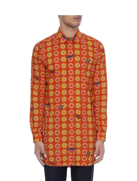 Sheroz Printed Long Shirt