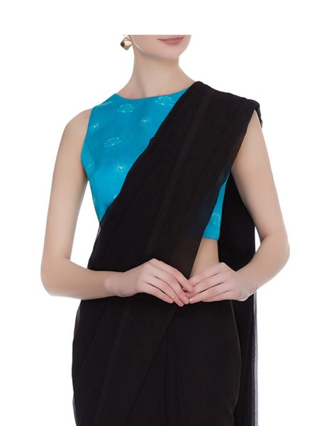 Maya Sleeveless Blue Lotus Blouse