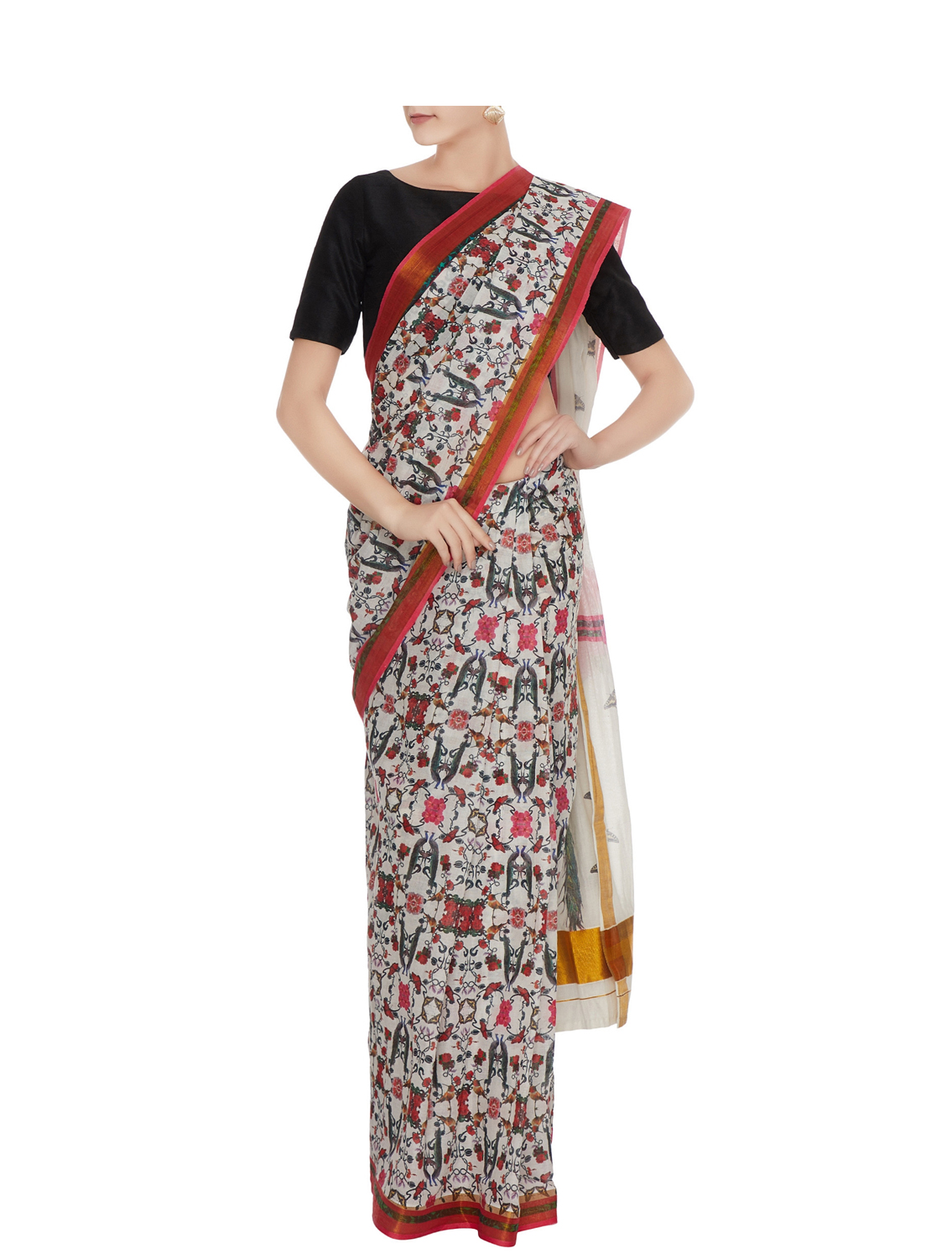 Perizaad Handloom Cotton Saree