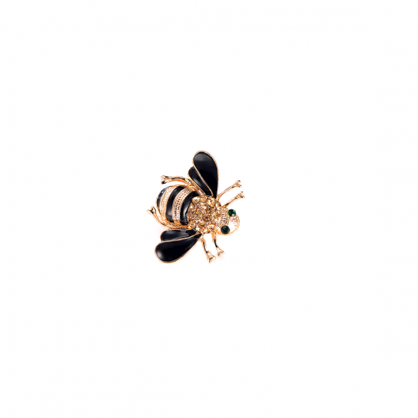 Black Bee Brooch