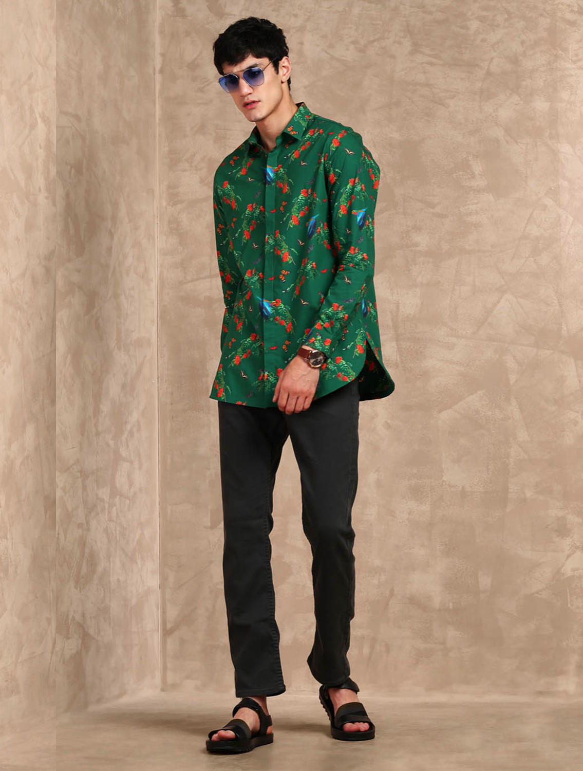 Jungle All-over Printed Shirt