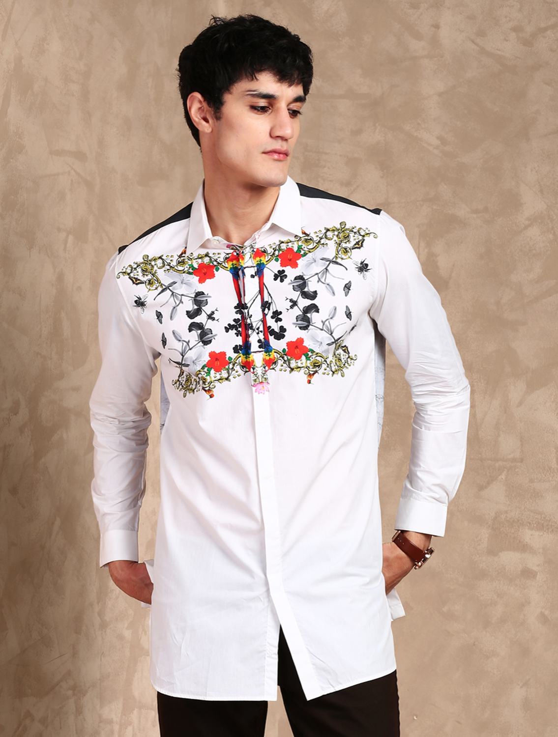 Pavo Printed Shirt