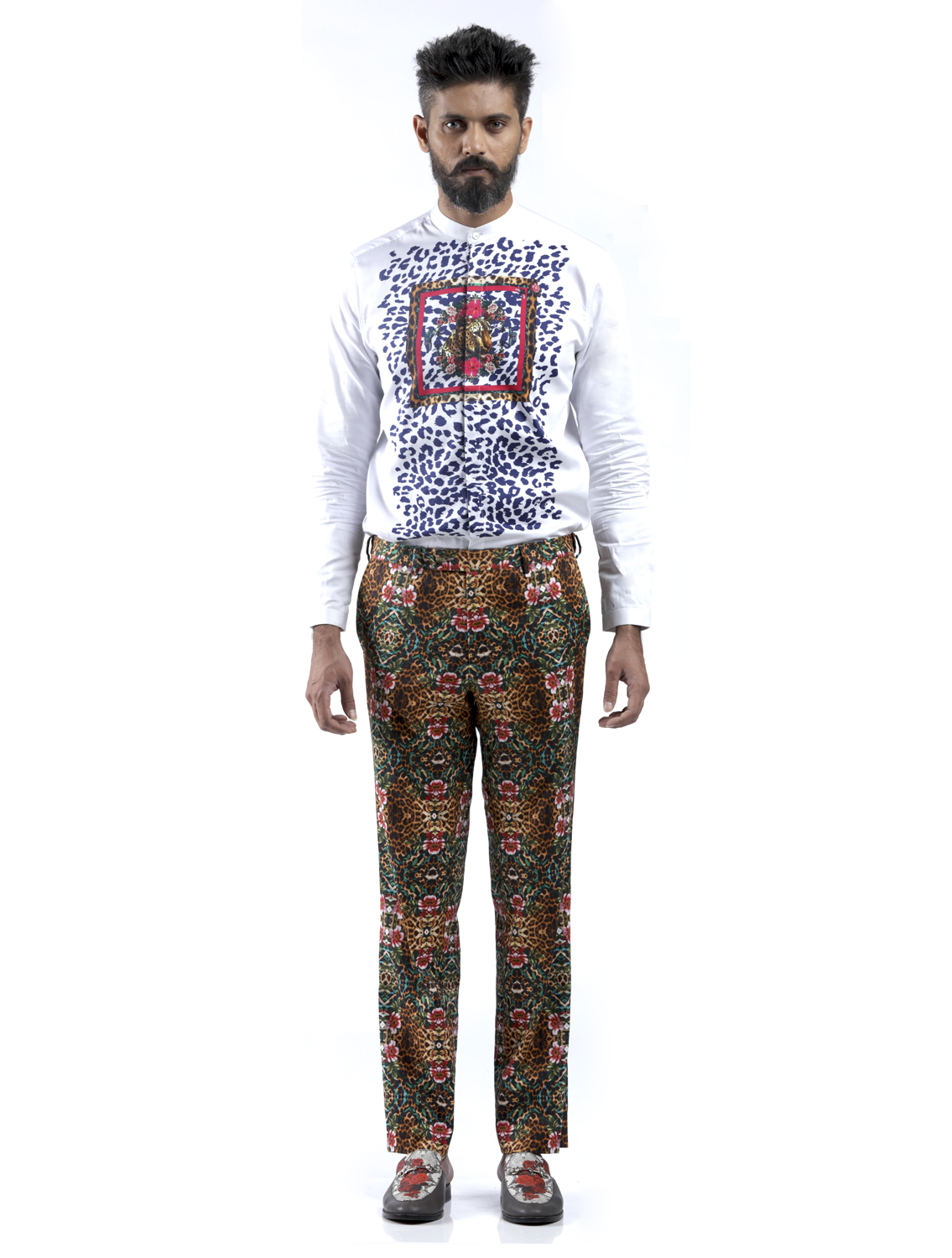 Stancis All-over Printed Pants