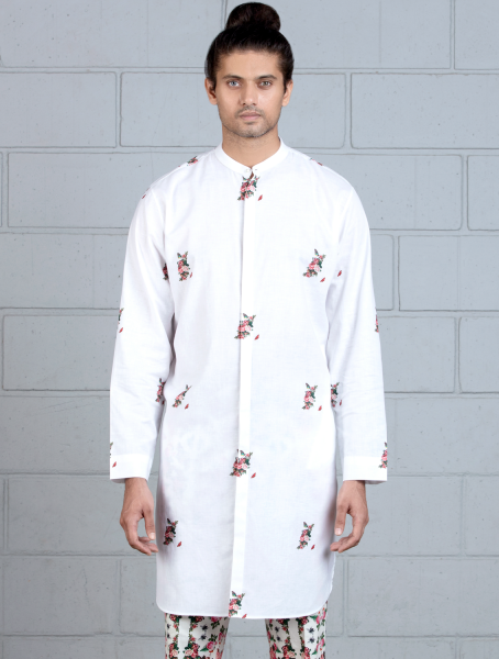 Regular Kurta with Buta Print