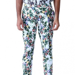 Milne Leaf Printed Trousers