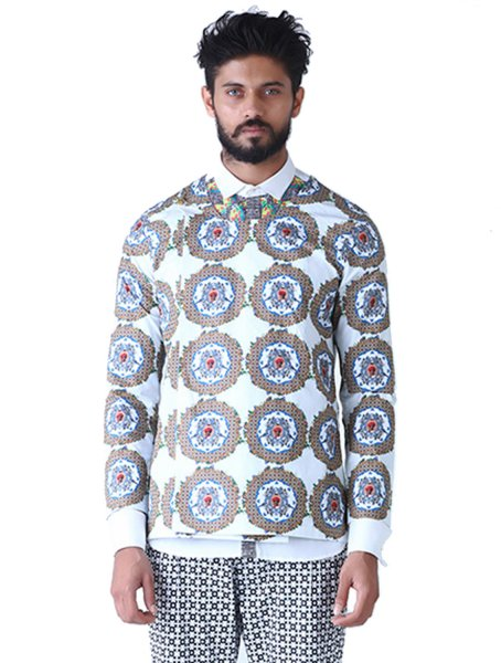Pattern of Life Overlap Jacket