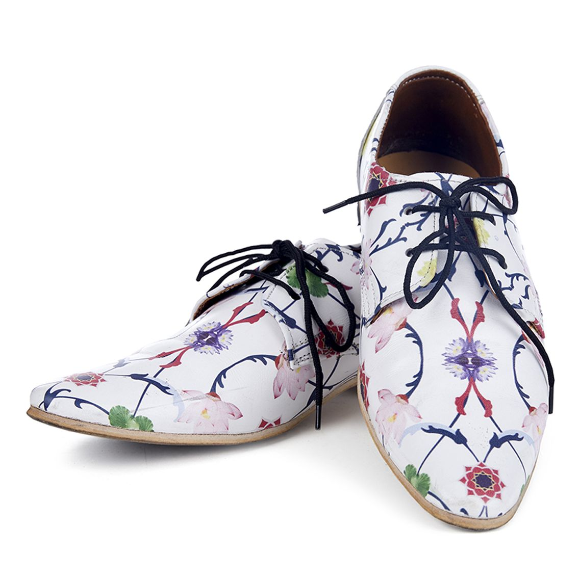 Komol Lotus Handmade Printed Shoes