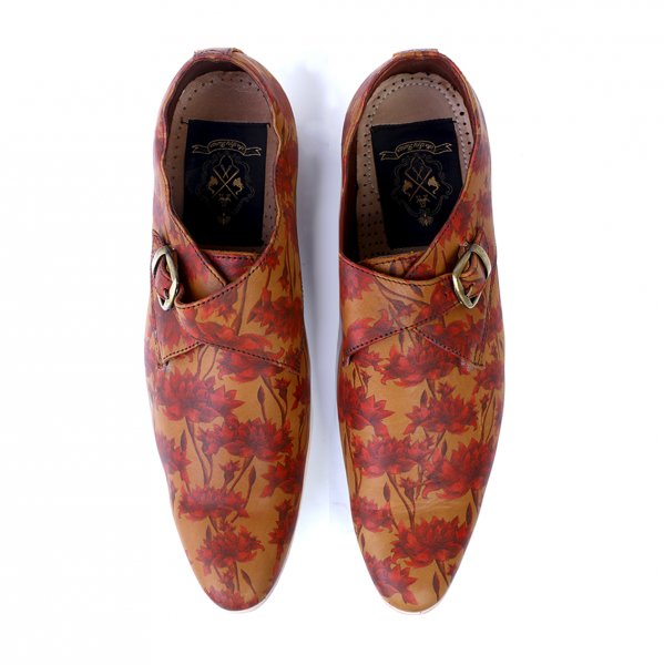 Sikri Handcrafted Monk Strap Shoes