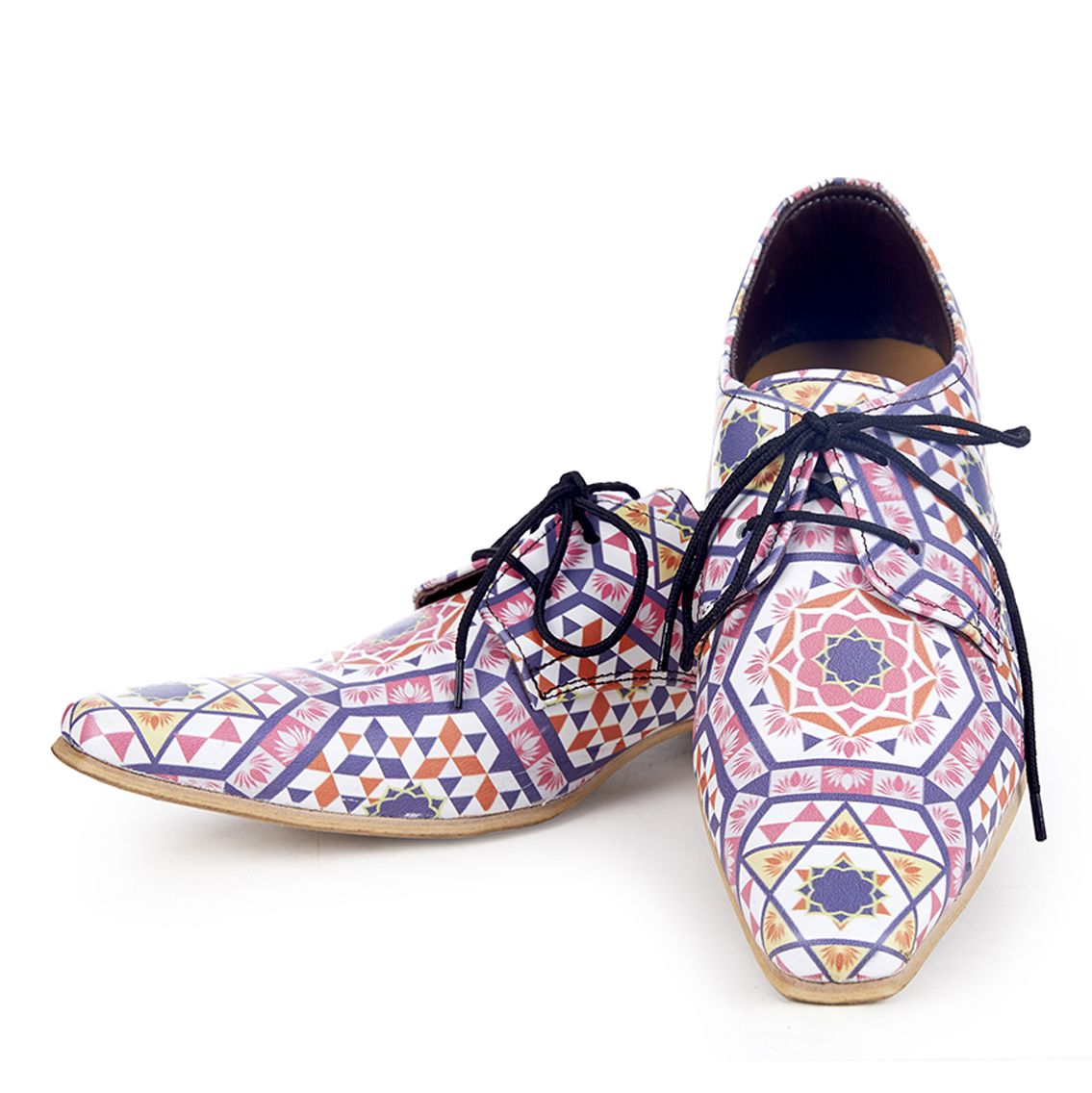 Kanwal Lotus Handmade Printed Shoes