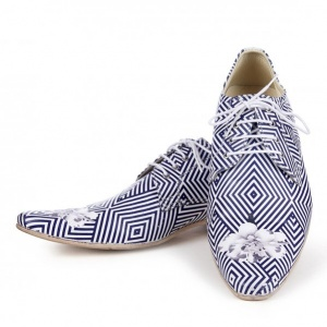Geom Handmade Printed Shoes