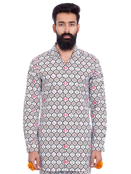 Aryan Regular Printed Shirt
