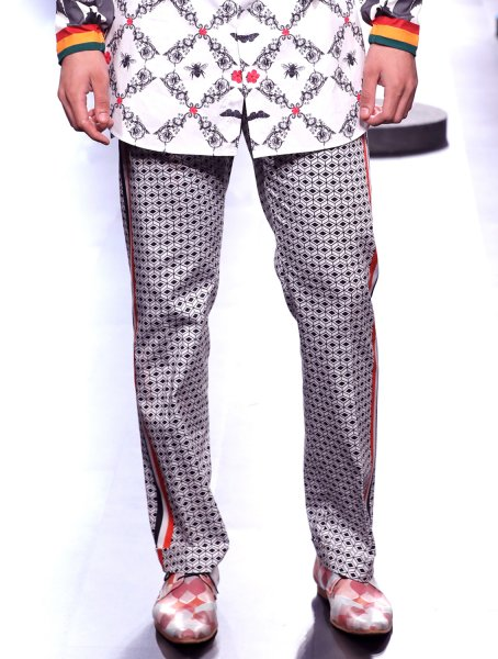 Percival Printed Trousers