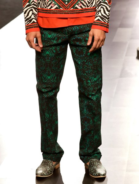 Greenland Printed Trousers