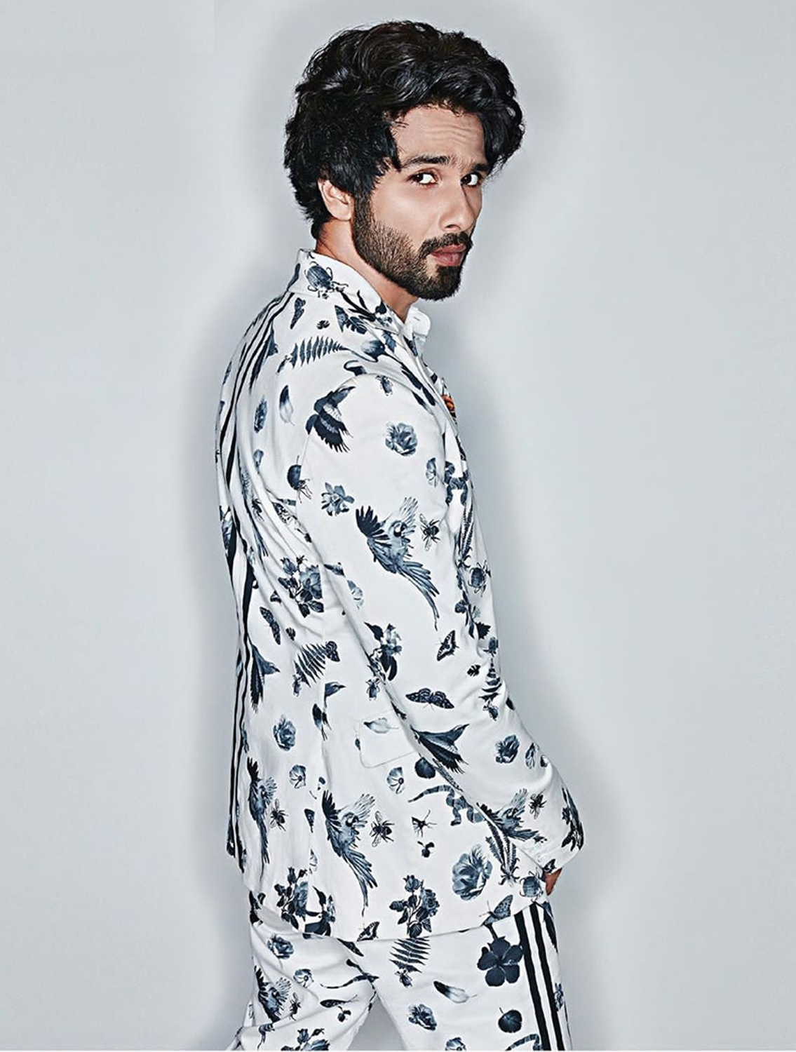 Bengal All-over Printed Blazer