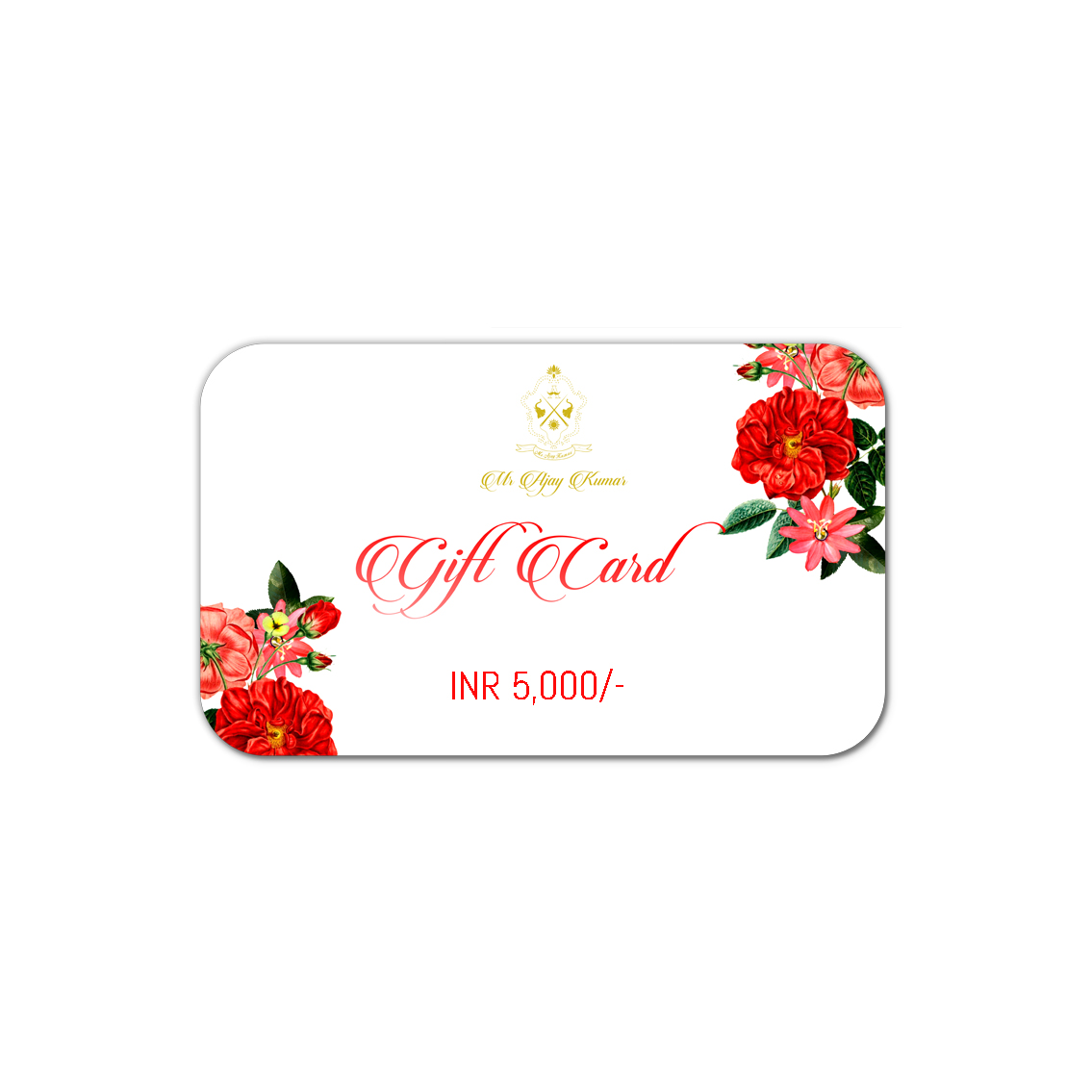 INR 5000 GIFT CARD
