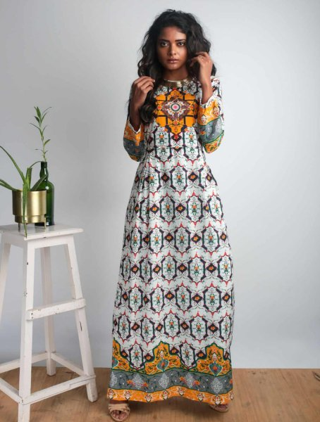 Devi Long Maxi Dress