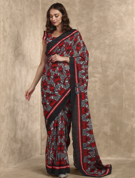 Printemp Printed Cotton Saree