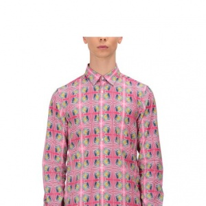 Puskar Printed Long Tunic Shirt