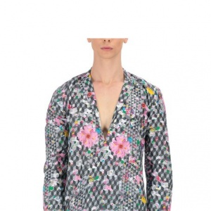 Arbore Linen Cross-over Shirt