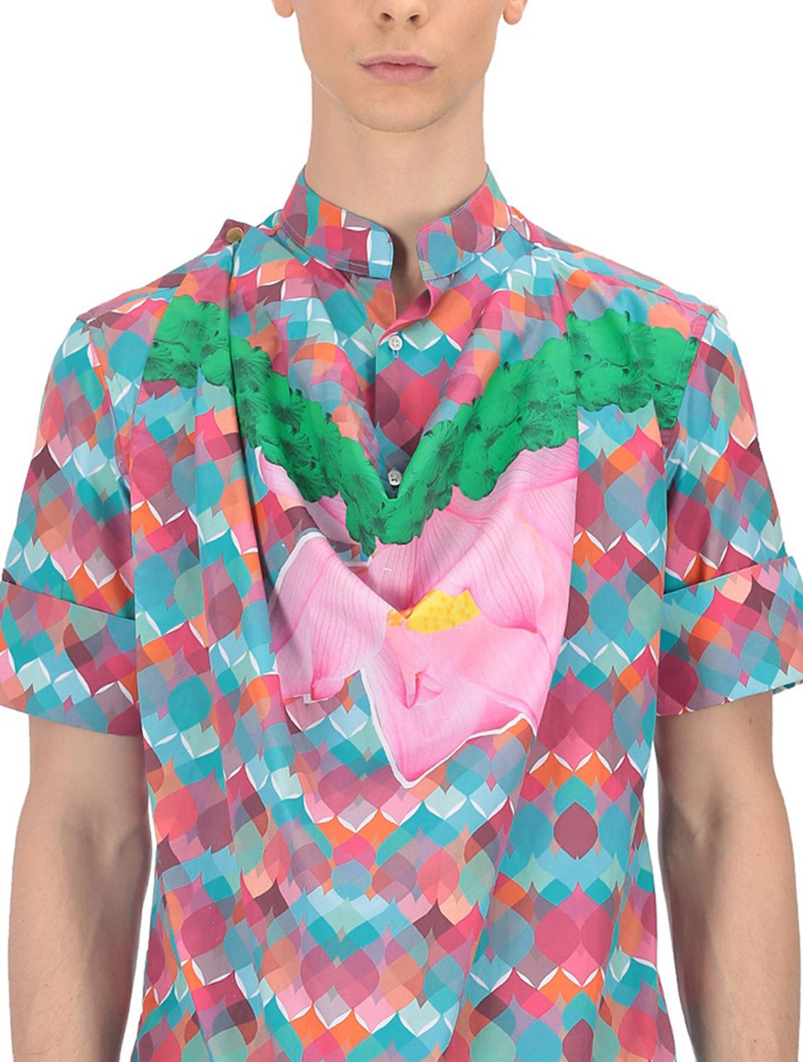 Rajoy Multicoloured Cowl Shirt