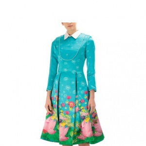 Padma-Maye Printed Dress