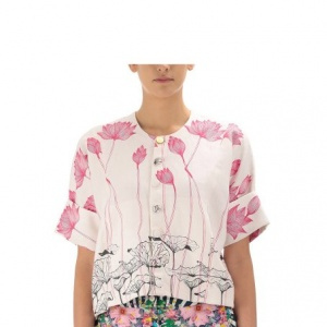 Lotus Linen Crop Top