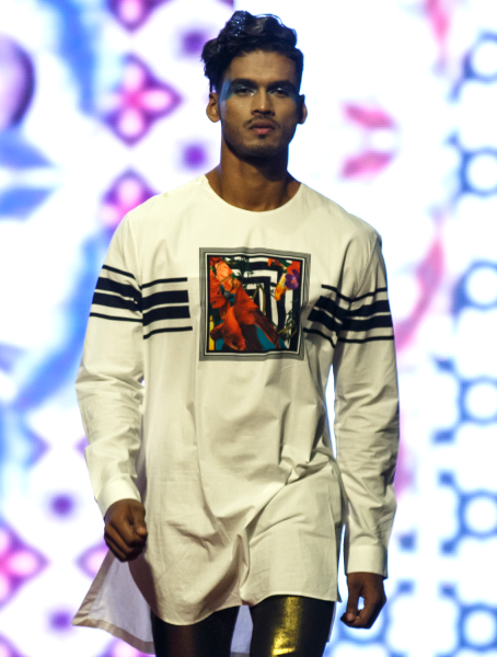 Jones White Signature Kurta