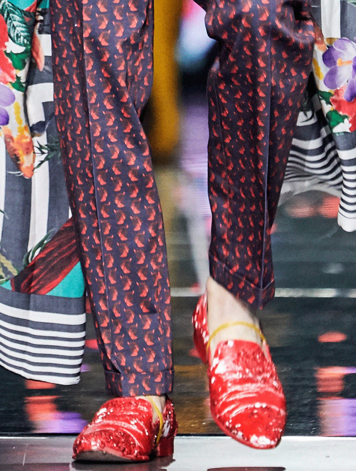 Melvin Printed Trousers