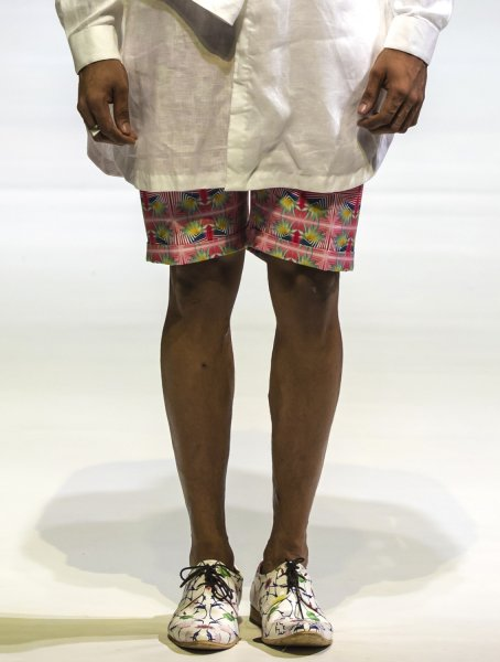 Karn Printed Shorts